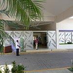 New entrance.