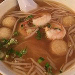 Lunch special spicy seafood noodle soup. Delicious, highly recommend.