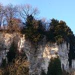 La falaise de Tancarville