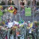 Nelson Mandela: memorial devant l'Hôtel de Ville de Cape Town