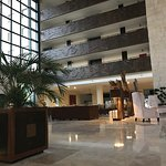 Lobby (our room, 437, was on the 4th floor diagonally across from the elevator, pool & ocean vie