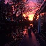 Amsterdam'da bir akşamüstü