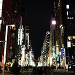 Walk to Ginza for shopping and bright lights