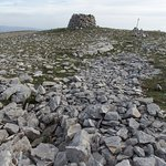 la cima di Monte Calvo