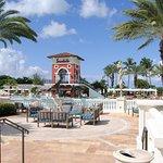 Main pool where Cabana's are located.