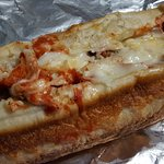 Wow! Got a really damn tasty slice of pie, meatball sub, and mozzarella sticks today. Off the ch