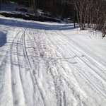 Snow mobile trail