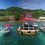 Truk Stop Hotel & Truk Lagoon Dive Center private dock