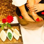 Complimentary In room Foot Soak and Massage in every Hotel Stay