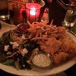 Shrimp dinner.