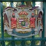 Royal seal at the entrance gate