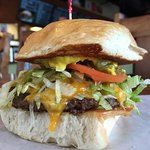 Chile Cheese Burger of the Month for June 2016
