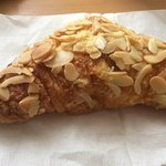 Large almond croissant - delicious!