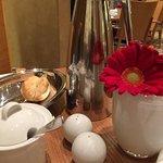 Flower in breakfast