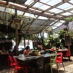 Cafe Go - great outdoor area