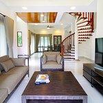 Refurbished Banyu Biru Villa - Living Room