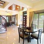 Refurbished Banyu Biru Villa - Dining Room