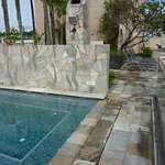 Aerated pool