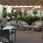 Restaurant with views over the port of Barcelona, on the sixth floor hotel Duquesa de Cardona