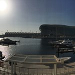 View from opposite side of Yas Marina