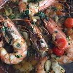 Sadly, tasteless prawns at 18.95 Euros