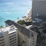 View from the Ewa Tower in an Ocean front room