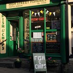 High Street Fisheries on a sunny day