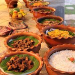 Sri Lanken Rice and Curry Buffet