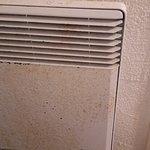 le radiateur qui mériterait d'être poncé/repeint