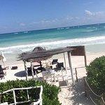 Beachclub area.