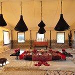Arabian dining tent