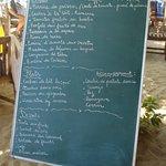 Exemple de menu du buffet du dimanche midi