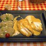 filet de st pierre et mousseline de betteraves blanches