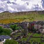 View of Salisbury Crags and Arthur's Seat