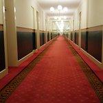 Very long corridor/hall