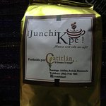You can also buy the locally produced coffee at the bar