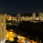 Night view balcony 19th floor