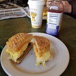 The best English muffin breakfast sandwich