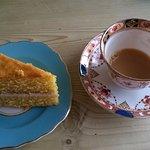 Delicious Tea and Victoria Cake