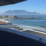Table Mountain from our bedroom window.