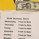 This site is not accurate for olas de Carlos surf grill call for correct price's 805 484-5566 cl