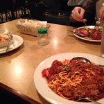Spaghetti & Meatballs, Lasagna and Chicken Parmesan