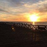 sunset at New Brighton SB