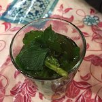 the best mint tea ever at No.1!
