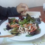 Vietnamese type salad...