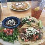 Brisket Tacos and Pumpkin Pancakes at Kerbey Lane Cafe