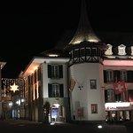 Hotel,Krone bei Nacht