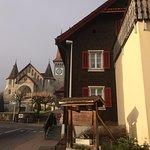 Restaurant Roessli with Church