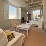 Olive Deluxe room large windows and 2 x Balconies