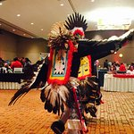 Indian dancing at the casino is a cultural treat!
